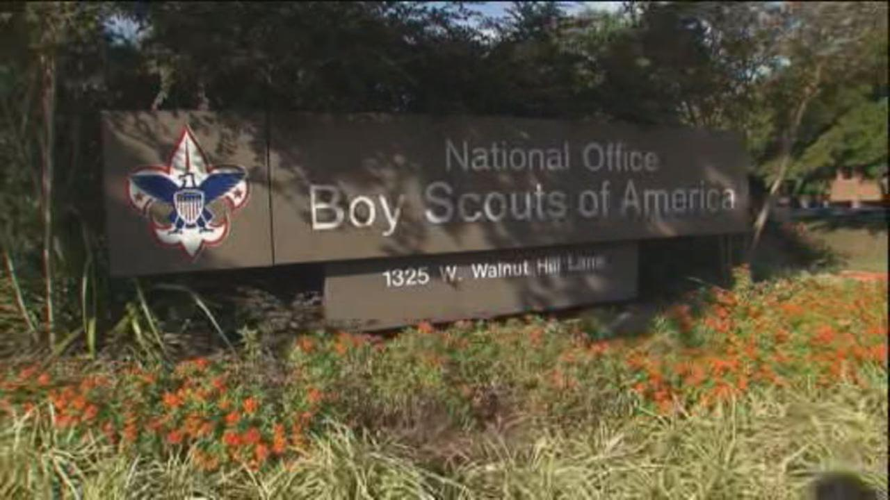 This undated image shows national office of Boy Scouts of America in Irving, Texas.