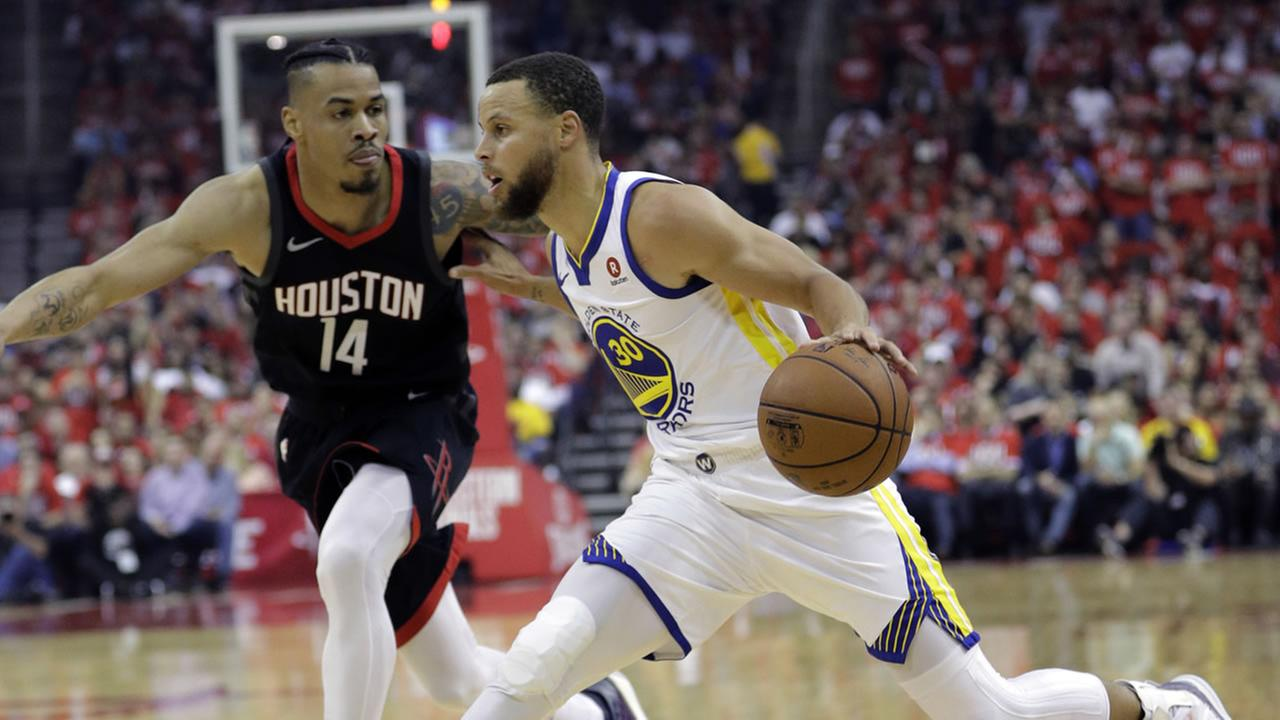 Golden State Warriors Beat Rockets On The Road