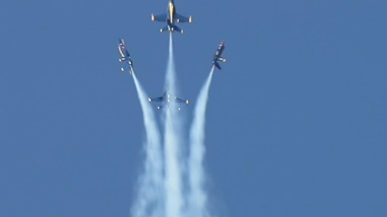 Blue Angels air show