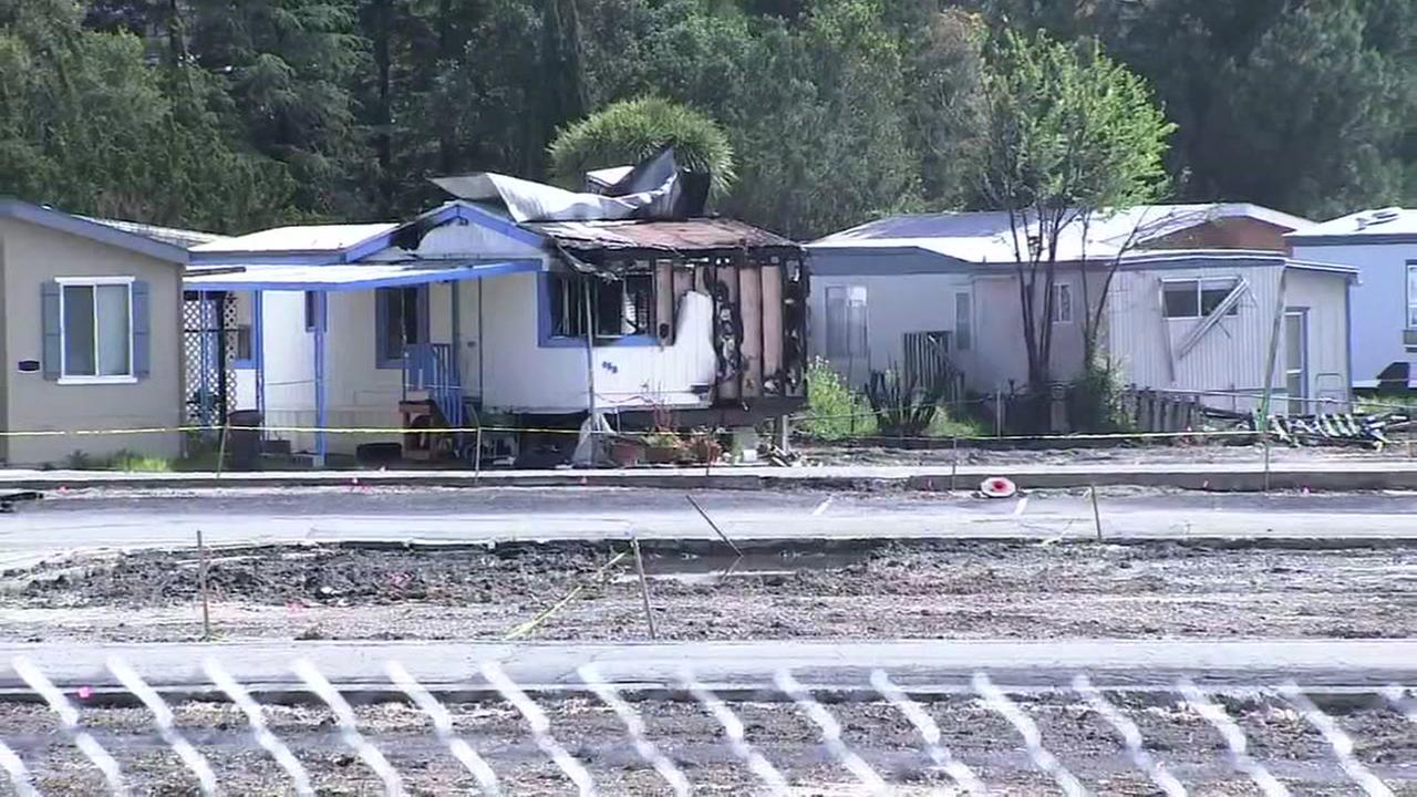 Journeys End mobile home park is pictured in Santa Rosa, Calif. on Thursday, May 17, 2018.