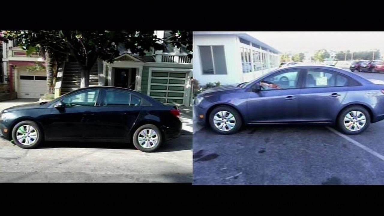 Daniel Stewarts two stolen cars