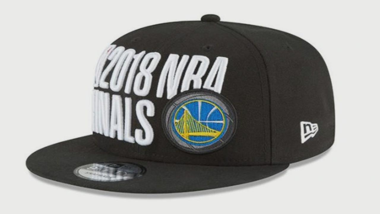 NBA Finals hat design likened to NRA logo  b4830c412