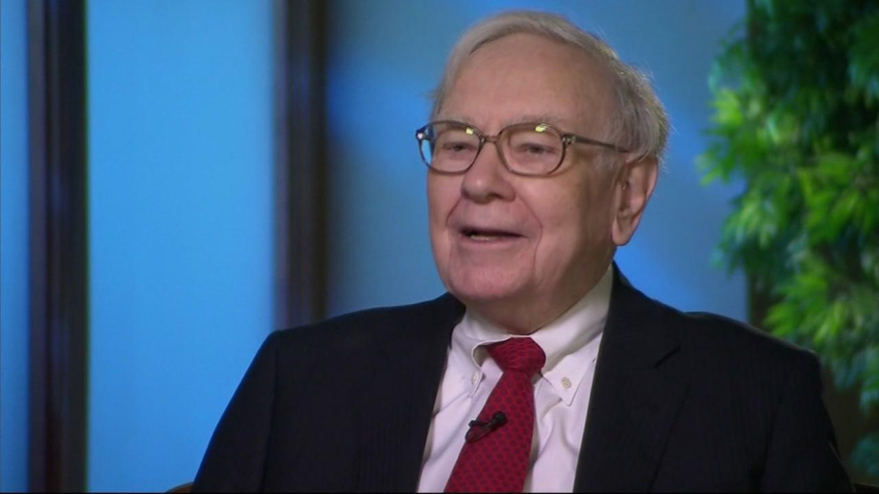 Warren Buffett appears in this undated image.