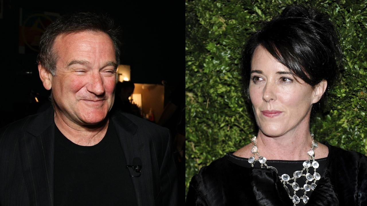 Robin Williams and Kate Spade are two celebrities that died by suicide. Both suffered from depression and substance abuse.