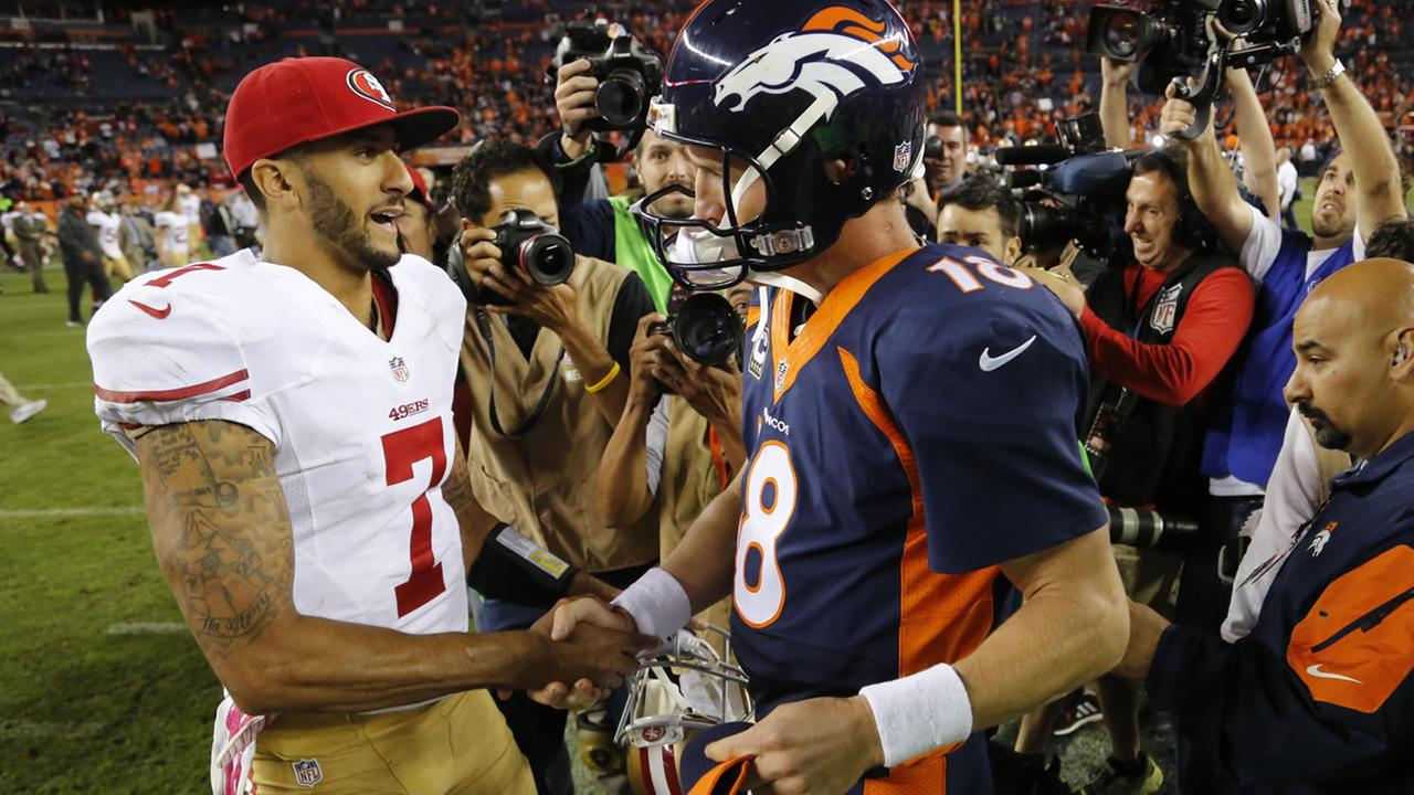 Kaepernick and Manning