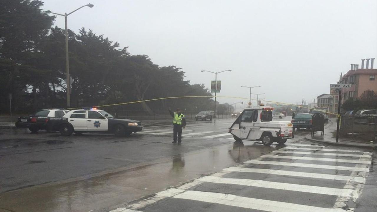 Fatal pedestrian accident in San Francisco.