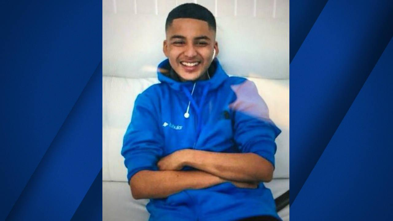 Brandon Rivera is seen in this undated image. He was reported missing from Mountain View, California.
