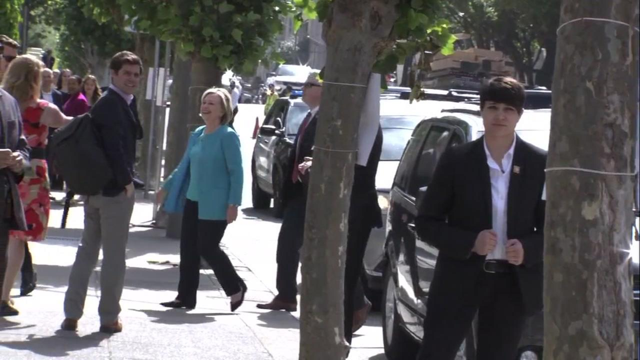 Hillary Clinton in San Francisco on Friday, June 15, 2018.