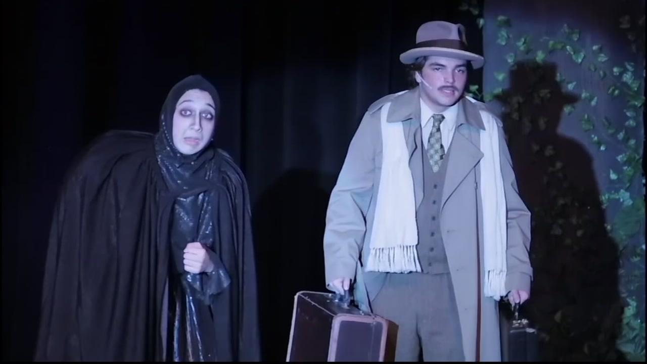 Cole Sisser plays Igor in The Young Frankenstein.