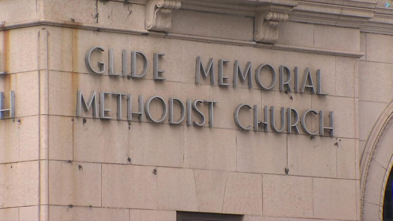 Glide Memorial Methodist Church is seen in San Francisco in this undated image.