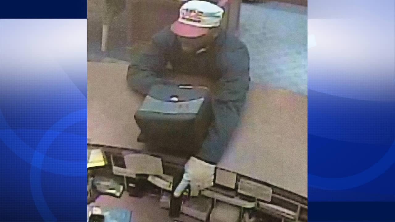 Police are searching for a man who robbed a jewelry store in the Stanford Shopping Center.