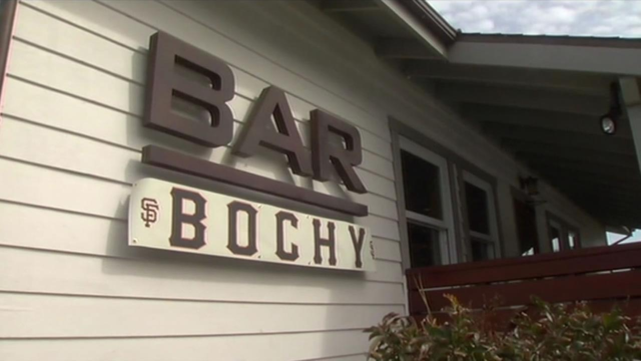 The owner of Bar Bocce in Marin County temporarily renamed his establishment Bar Bochy in honor of the Giants general manager.