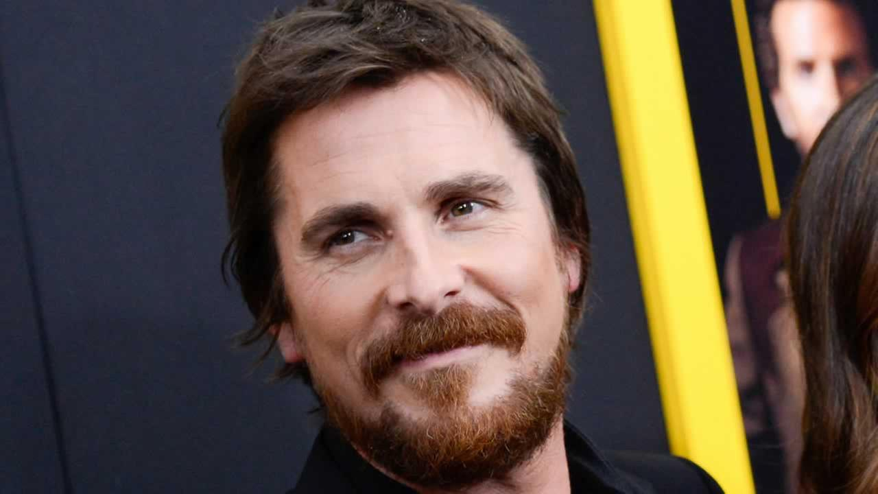 This Dec. 8, 2013 file photo shows actor Christian Bale at the premiere of American Hustle at the Ziegfeld Theatre in New York.