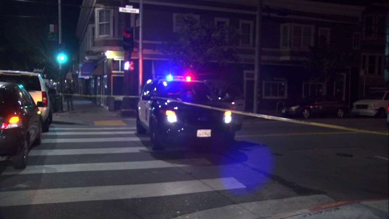 Shooting scene in San Francisco on Friday, June 22, 2018.