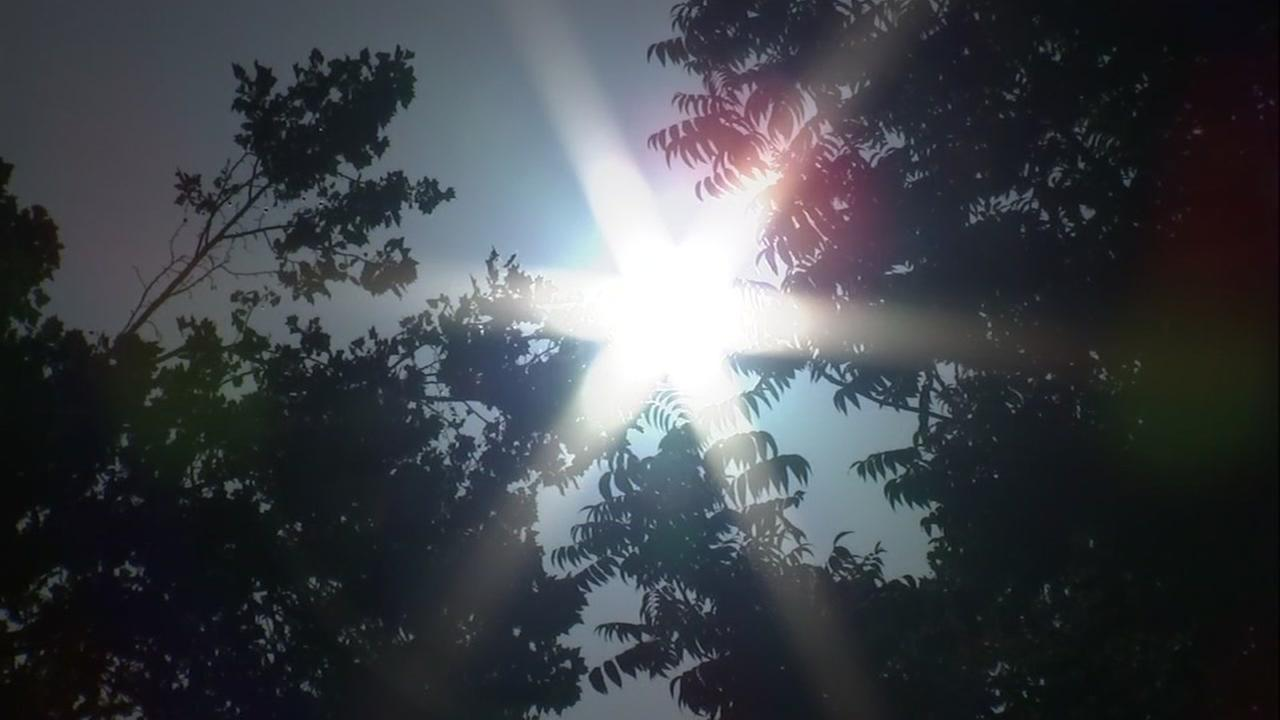The sun creates flare in this undated file photo.