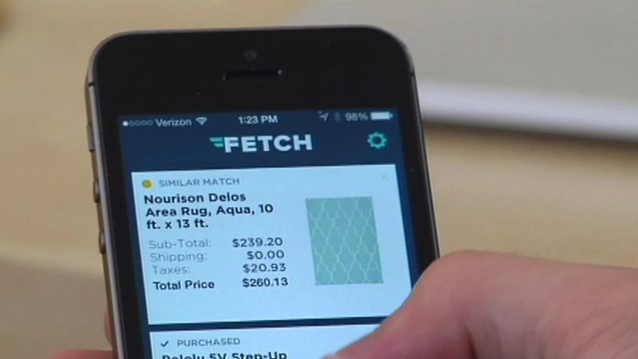 Fetch app.