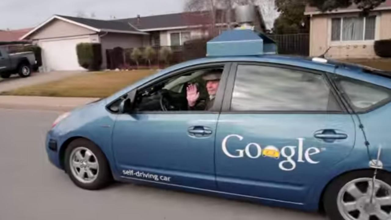 Steve Mahan, the CEO of the Santa Clara Valley Blind Center, was the first person outside of Google to sit in in the drivers seat of the companys self-driving car.