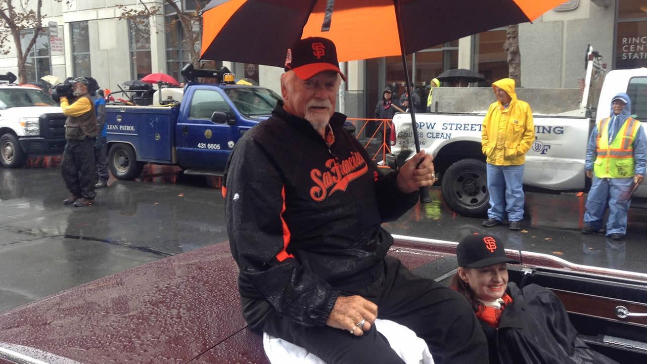 San Francisco Giants 2014 Victory Parade in San Francisco, October 31, 2014. (ABC7 News)