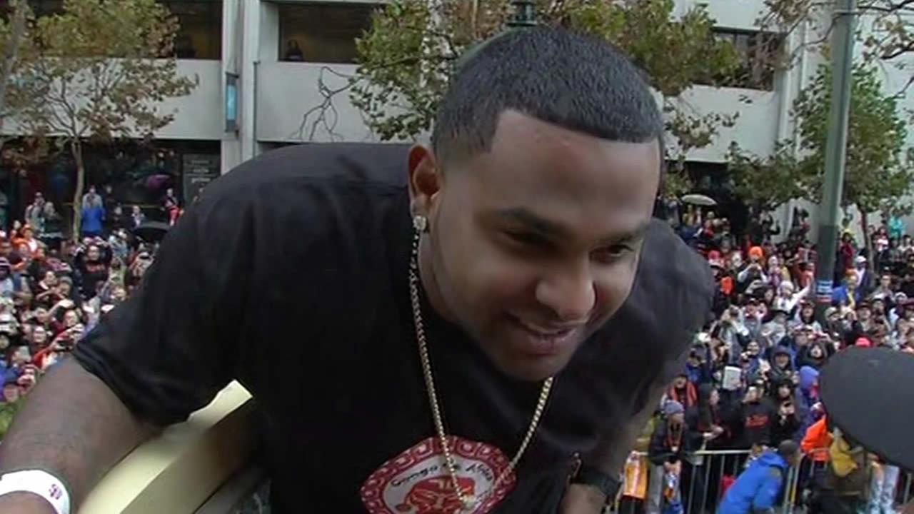 San Francisco Giants infielder Pablo Sandoval.