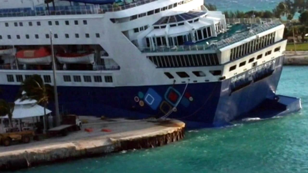 Passengers Describe Chaos After Cruise Ship Runs Aground