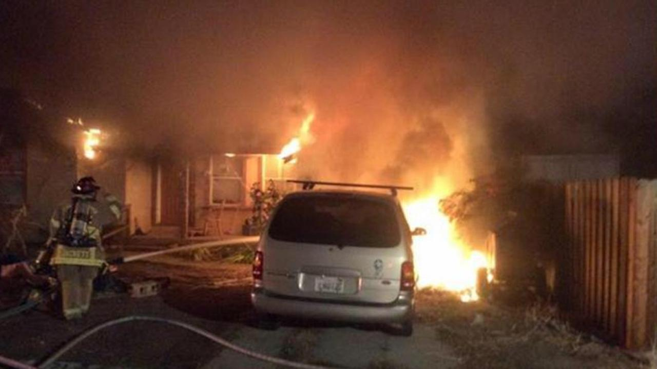 Fire in Concord (Contra Costa County Fire Protection District)