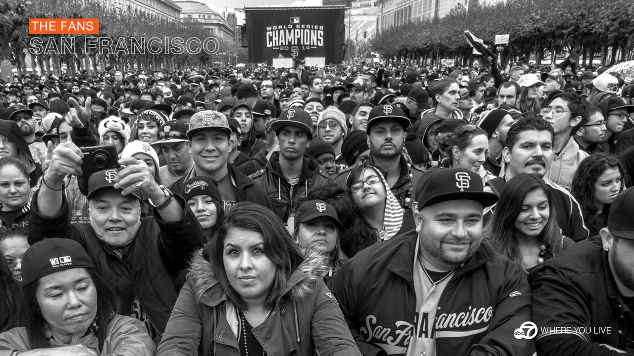 2014 San Francisco Giants fans