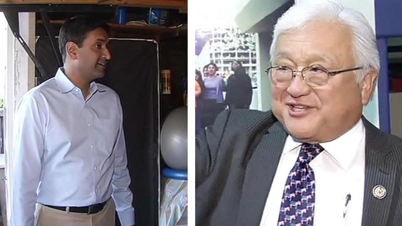 Rho Khanna and Mike Honda vie for the 17th Congressional District.