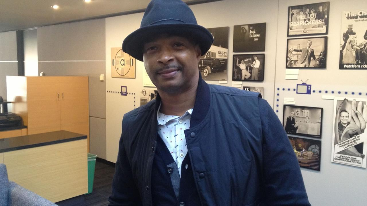 Damon Wayans at ABC7 News.