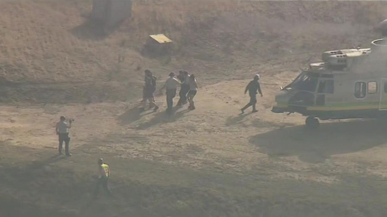 15 hikers rescued from Eaton Canyon northeast of Los Angeles