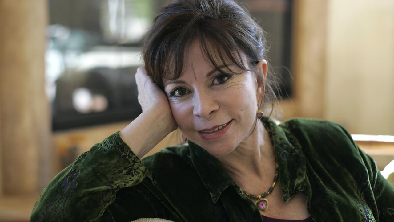 In this March 24, 2008 file photo, author Isabel Allende at her home in San Rafael, Calif. (AP Photo/Eric Risberg, file)
