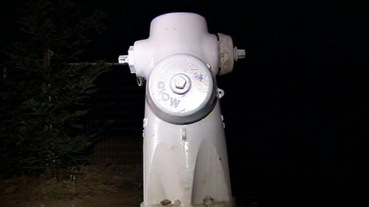 fire hydrant in East Contra Costa County