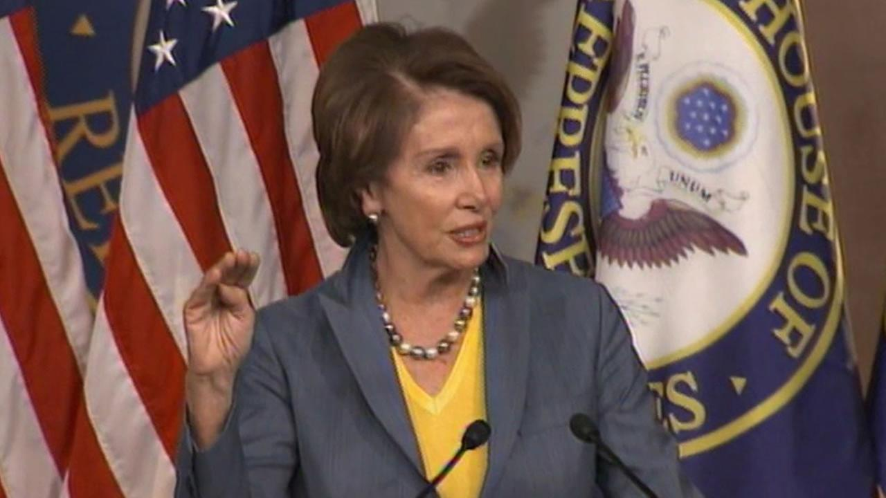 Minority Leader Rep. Nancy Pelosi