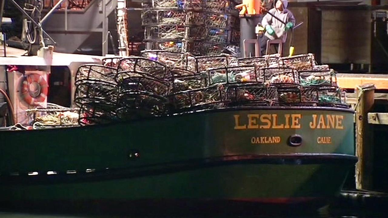 Crab fishing boat in San Francisco.