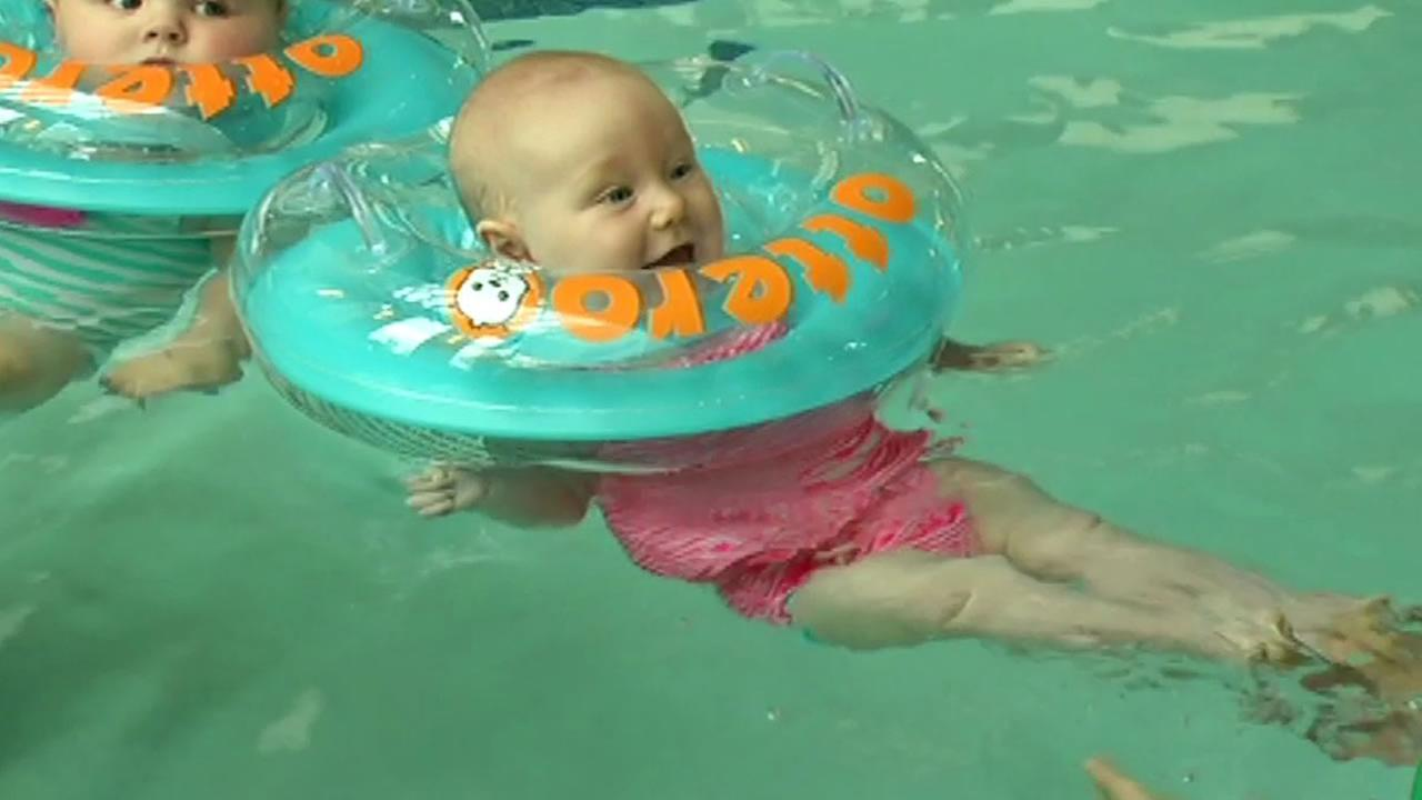 7 On Your Side puts infant neck float Otteroo to the test abc7newscom