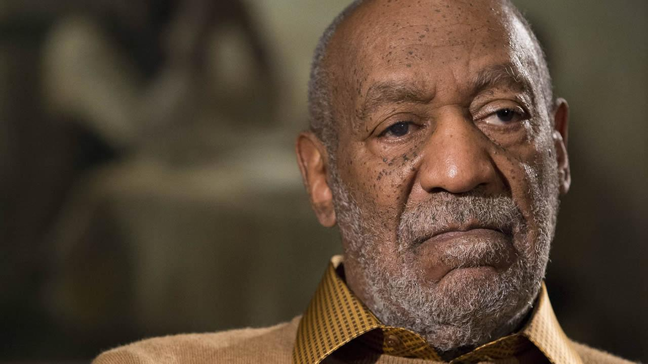 In this photo taken Nov. 6, 2014, entertainer Bill Cosby pauses during an interview. (AP Photo/Evan Vucci)