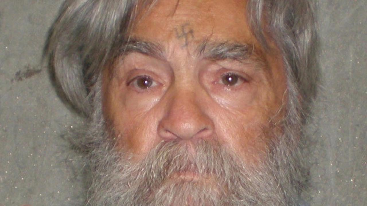 This April 4, 2012 file photo shows an image provided by the California Department of Corrections of serial killer Charles Manson. (AP Photos/California Department of Corrections, file)