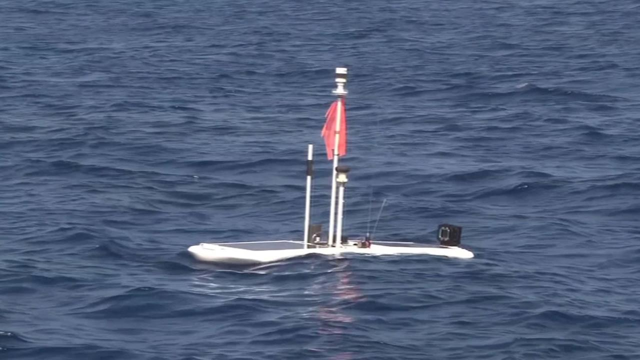 Liquid Robots sea-going drone.