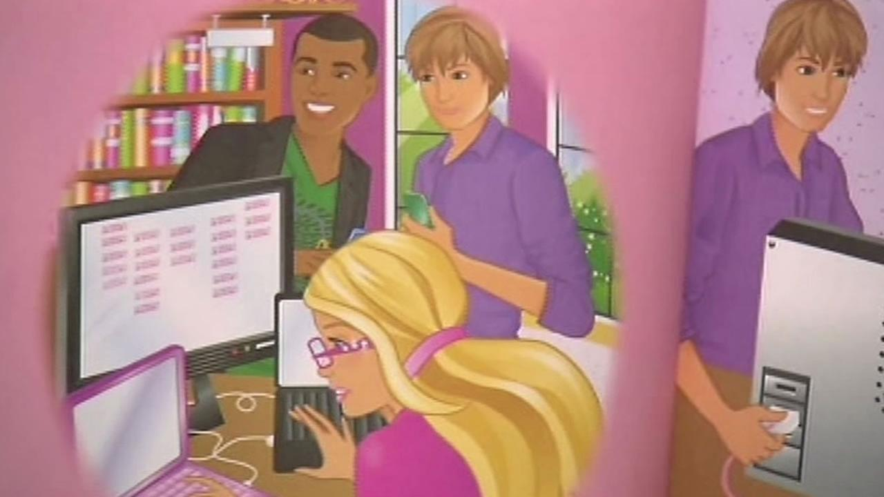 Computer Engineer Barbie book.