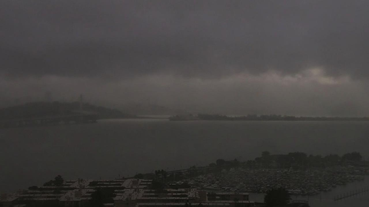 Photo taken from ABC7 News HD Emeryville cam