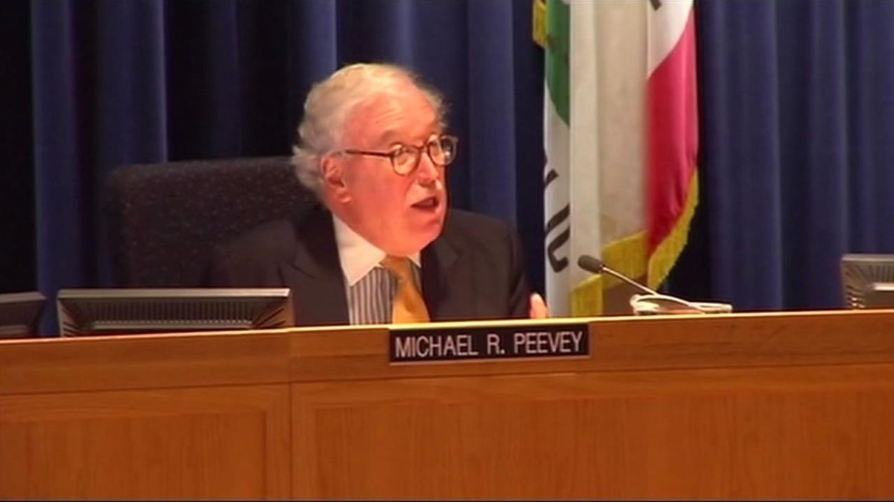 California Public Utilities Commission President Michael Peevey is accused by The Utility Reform Network (TURN) of pushing through $29 million in incentive payments to PG&E.