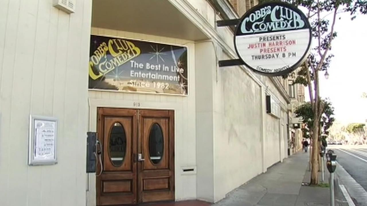 Cobbs Comedy Club in San Francisco