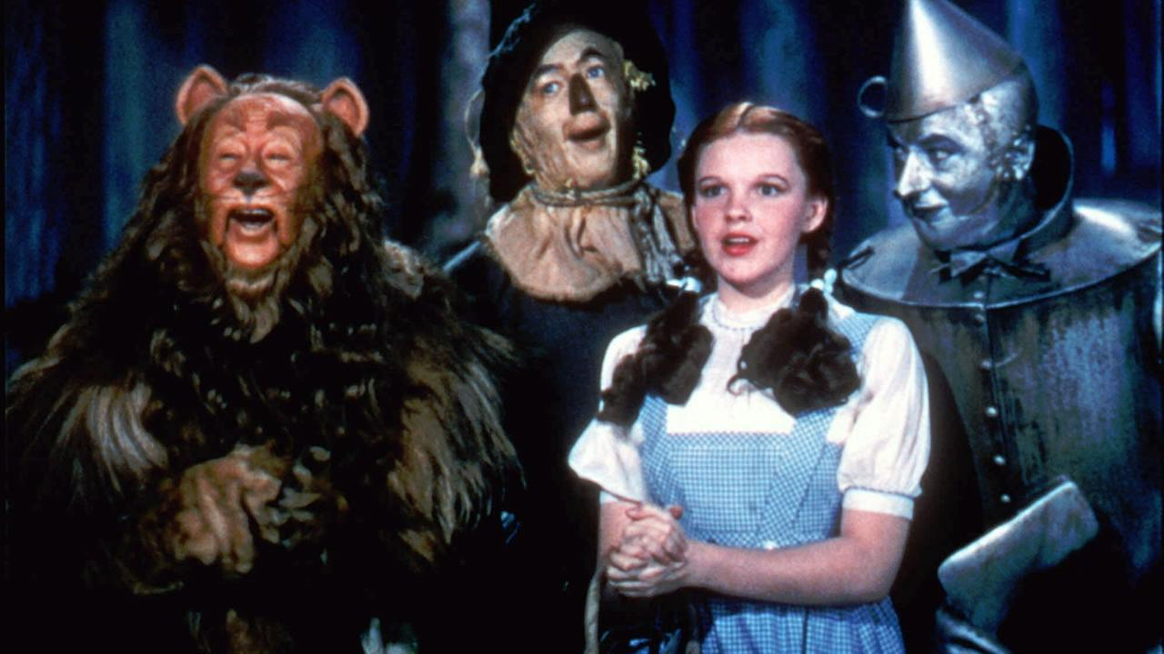 FILE - In this 1939 file photo originally released by Warner Bros., characters are shown in a scene from The Wizard of Oz.(AP Photo/Warner Bros., file)
