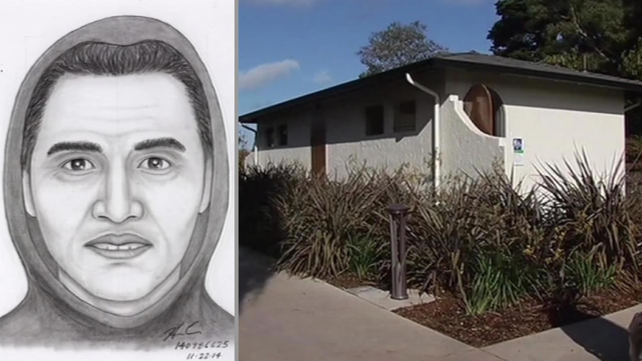 San Francisco police released a sketch of a person they are looking for in connection with the sexual assault of a child in the bathroom at LaFayette Park.