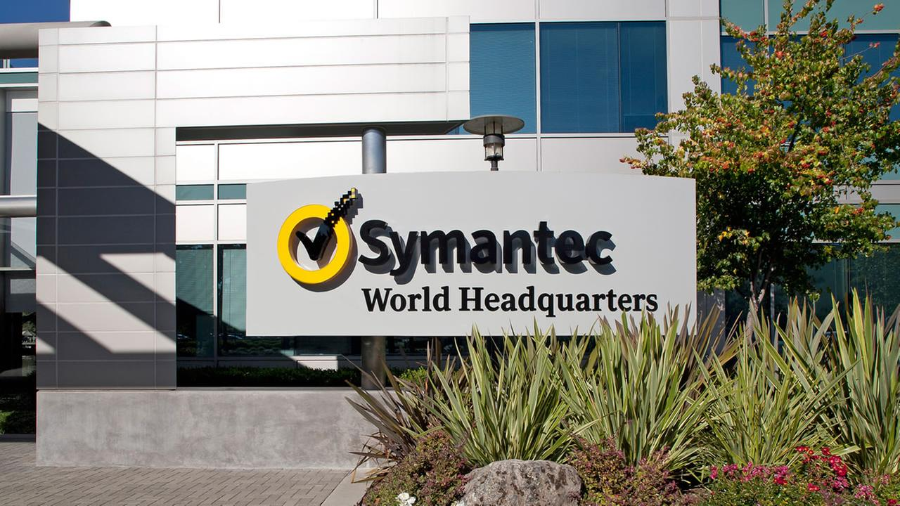 Symantec world headquarters in Mountain View, Calif.