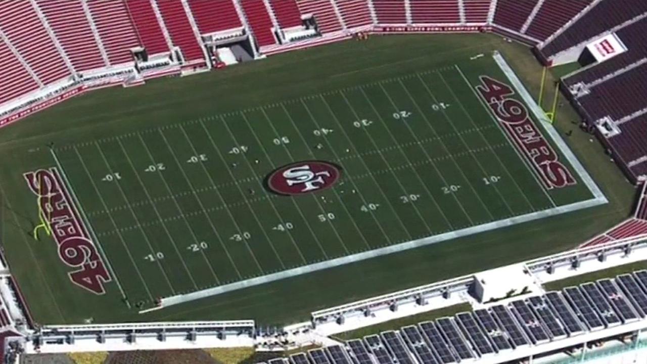Levis Stadium in Santa Clara.