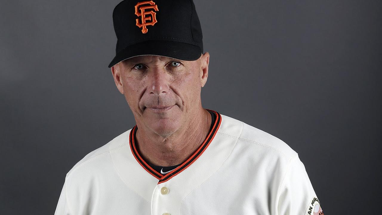 This is a 2013 photo of Tim Flannery of the San Francisco Giants baseball team. This image reflects the Giants active roster as of Wednesday, Feb. 20, 2013. (AP Photo/Morry Gash)