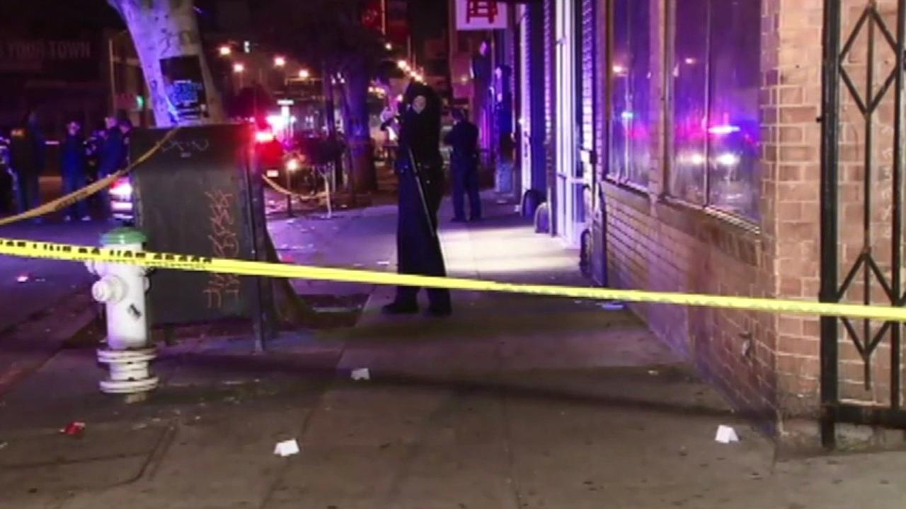 San Francisco shooting scene