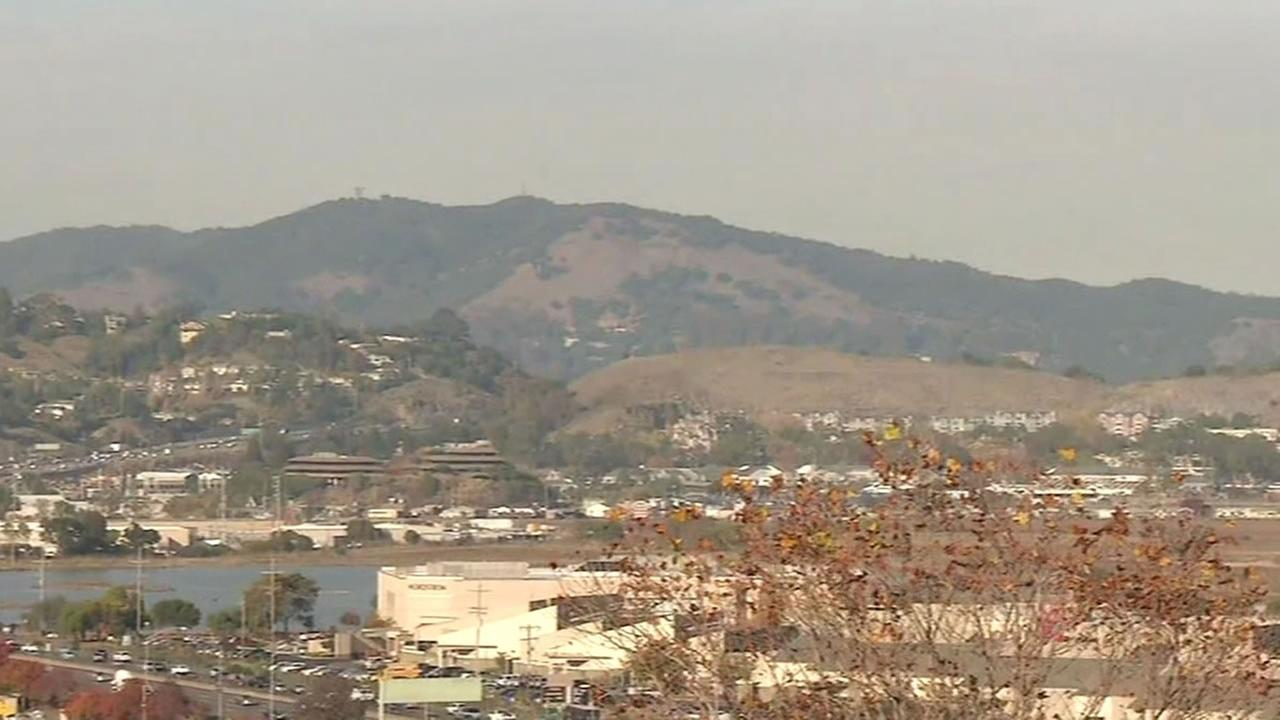 smoggy Bay Area air