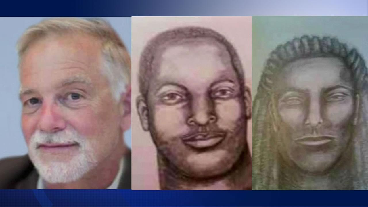 Police are looking for the two suspects wanted in connection with the shooting death of David Ruenzel on a hiking trail in the Oakland Hills.