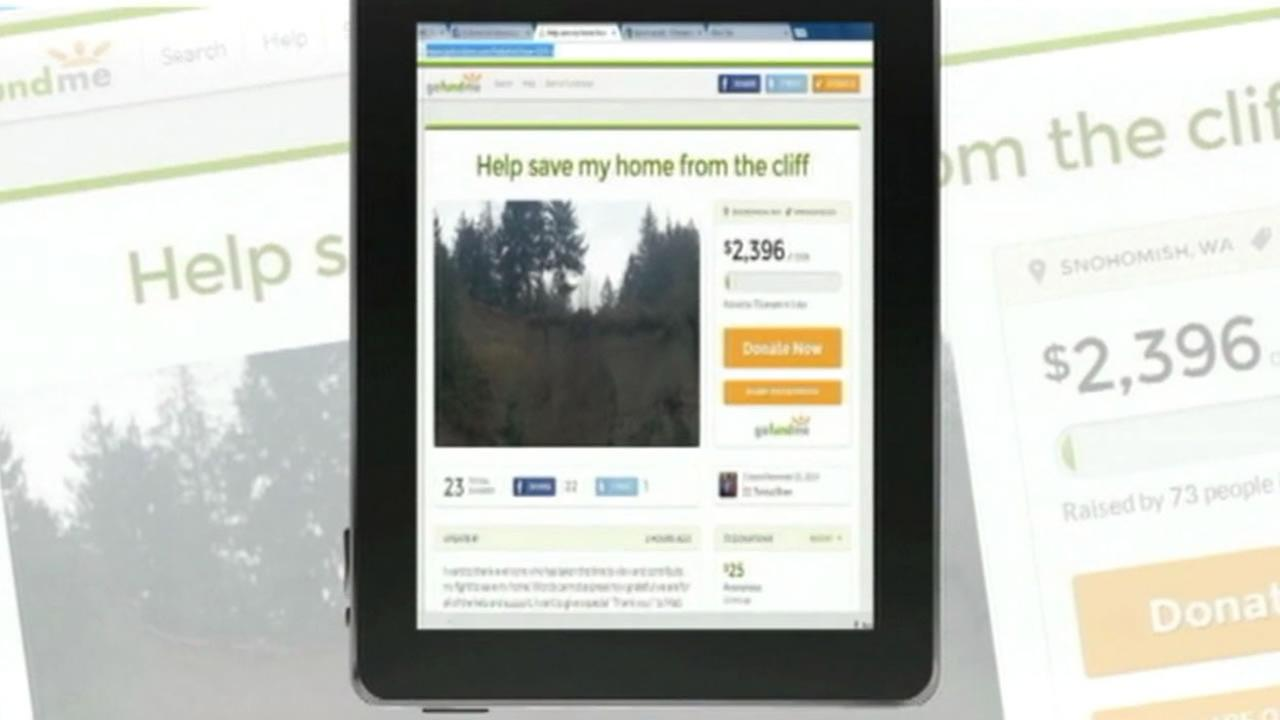 A Washington family is crowdfunding to help save their home.